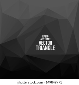 Abstract geometric background. Vector illustration for your technology presentations.