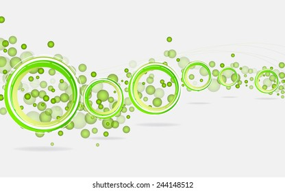 Abstract geometric background. Vector Illustration. Clip-art