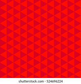 Abstract geometric background. Vector seamless triangle pattern. Festive background.