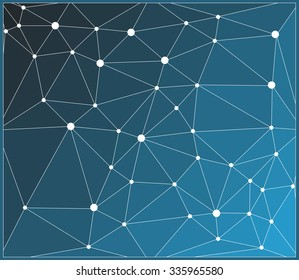 Abstract geometric background.Polygonal vector background.