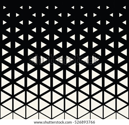 Abstract Geometric Black White Graphic Design Stock Vector Royalty