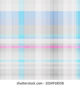 Abstract geometric blue and pink color pattern for modern design. Vector