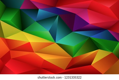 Abstract geometric colorful poligonal background. Vector digital background for business, web, applications. Abstract vector wallpaper.
