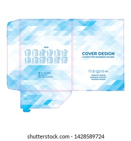 Abstract geometric cover design in modern polygonal style, creative background for banners, leaflets, brochures.