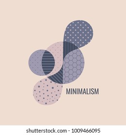 Abstract geometric design. Vector illustration. Can be used for advertising, marketing, presentation.