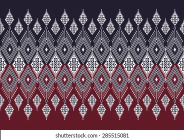 Abstract geometric  ethnic pattern design for background or wallpaper.