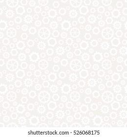 Abstract geometric gear light gray graphic design cog wheel pattern