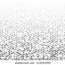 Abstract Geometric Graphic Design Pattern with Triangles. Vector Illustration.