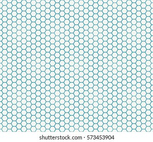abstract geometric graphic seamless blue hexagon pattern background