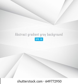Abstract geometric gray color background