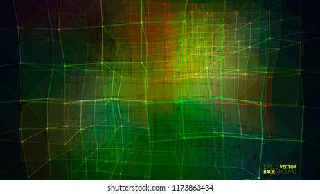 Abstract geometric haos