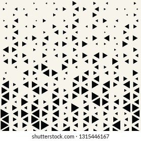 Abstract geometric hipster fashion design print triangle pattern