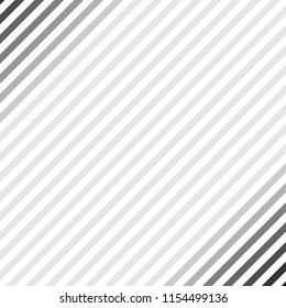 Abstract geometric lines with diagonal black and white stripes. Illustration