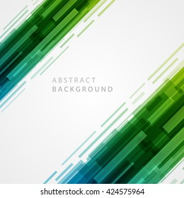 Abstract geometric lines vector background. Technology Background.
