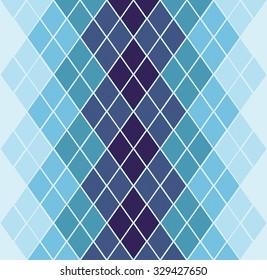 Abstract geometric monochromatic pattern