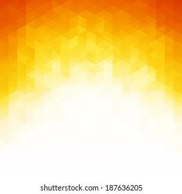 Abstract geometric orange Background, Vector Illustration. EPS 10