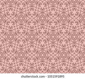 Abstract geometric ornament. Beautiful seamless vector pattern. for Card, print, kerchief design, napkin.