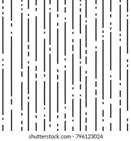 Abstract geometric pattern with black dotted lines on white background. Vector illustration