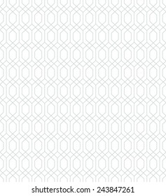 Abstract  geometric pattern by lines .  Seamless vector background. Gray and white texture.