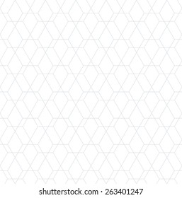 Abstract geometric pattern by lines, diamonds. A seamless vector background. Light texture