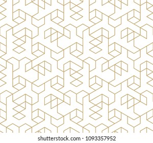 Abstract geometric pattern with crossing thin lines on white background. Seamless linear rapport. Stylish white texture. Vector pattern to fill the background, laser engraving and cutting.