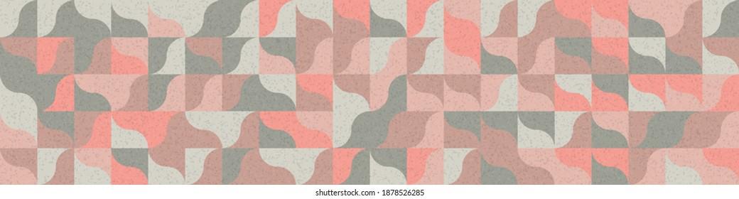 Abstrakte Geometrische Muster generative Computergrafik-Illustration