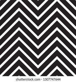 Abstract geometric pattern with lines. Modern black and white texture. Vector background