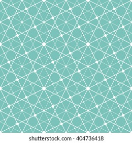 Abstract geometric pattern with lines, squares. A seamless vector background.