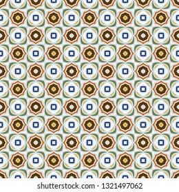 Abstract geometric pattern. Print, cloth design, wallpaper. Vector seamless pattern.