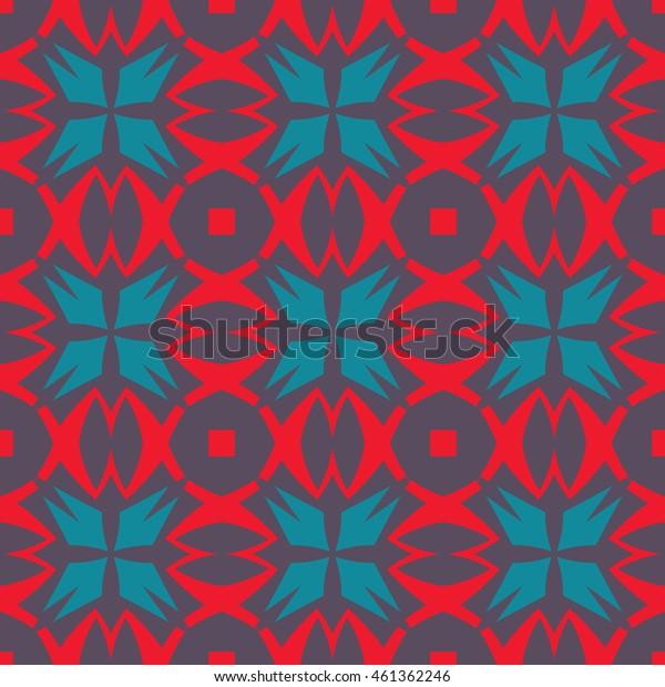 Abstract geometric pattern. Print, cloth design, wallpaper. Vector illustration.