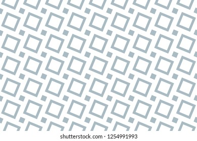 Abstract geometric pattern. A seamless vector background. White and blue ornament. Graphic modern pattern. Simple lattice graphic design