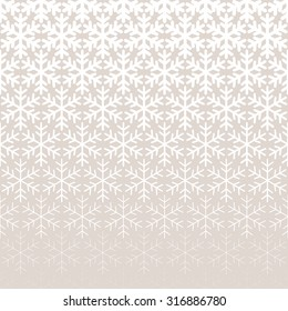 Abstract geometric pattern with snowflakes Repeating seamless background
