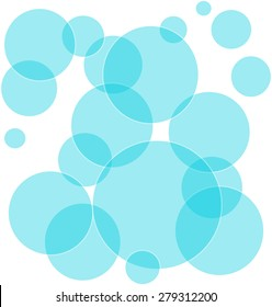 Abstract geometric pattern - soap bubbles. Backgrounds & textures shop.