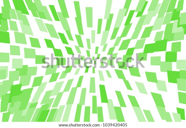 Abstract geometric pattern with squares, rectangles. Design element for web banners, posters, cards, wallpapers, backdrops, panels Green color Vector illustration