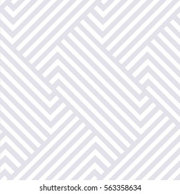 Abstract geometric pattern with stripes, lines. A seamless vector background. Gray and white texture.