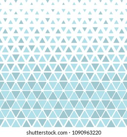 Abstract geometric pattern. Vector background. White and blue halftone. Graphic modern pattern. Simple lattice graphic design
