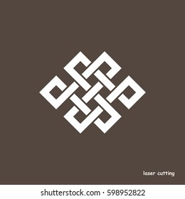 Similar Images, Stock Photos & Vectors of Endless Knot Tibet