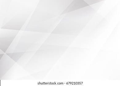 Abstract geometric pattern White and gray color technology modern futuristic background, vector illustration