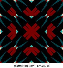 Abstract geometric pattern.Textile printing,web design, Identity, wallpaper.