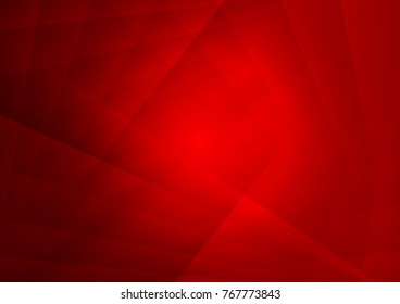 Abstract geometric Red color, Vector illustration background