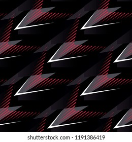 Abstract geometric seamless military camouflage covers pattern. Fashion Style Design Print Triangle. With vertical fading lines, tracks, halftone stripes. Extreme sport style illustration. Urban. Eps1