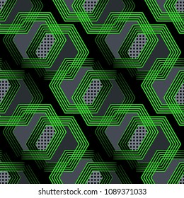 Abstract geometric seamless pattern. Denim urban graphic design. Fashion ?rt Style Design Print Triangle. With vertical fading lines, tracks, halftone stripes. Extreme sport style illustration. Trendy