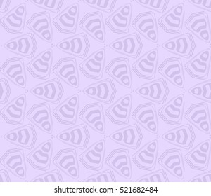 abstract geometric seamless pattern. vector. purple