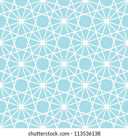 Abstract geometric seamless pattern. Winter ornament with line.