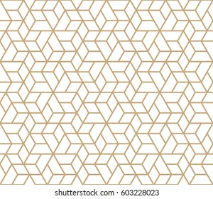 abstract geometric simple trendy grid deco pattern