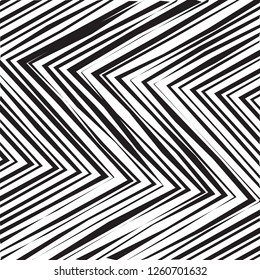 Abstract Geometric Simple Zigzag Print, Wave Pattern, Unique Geometric Ethnic Style, Perfect for Site Backgrounds, Wrapping Paper and Fabric Design