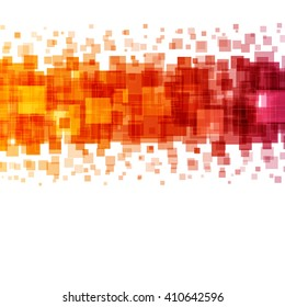 Abstract geometric squares lines vector background. Good for promotion materials, brochures, banners. Abstract Backdrop, Technology Background.