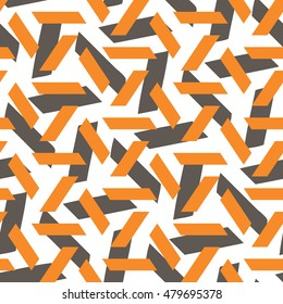 Abstract geometric strips pattern