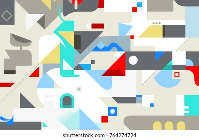 Abstract geometric texture background. Vector illustration.