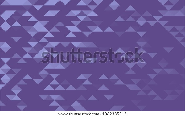 Abstract geometric ultra violet graphic pattern design of triangles, vector design.